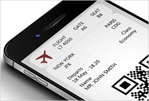 Conservative estimate? One in three airline boarding passes via mobile by 2019