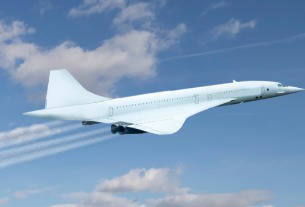 "Exosonic developing low-boom supersonic jet possibly to serve as ""Air Force One"""