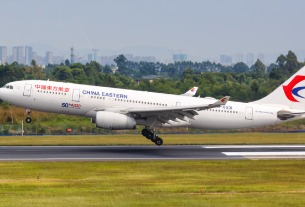 China Eastern has reactivated all aircraft based in Shanghai