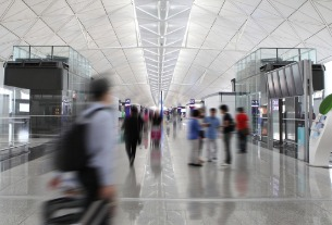 Hong Kong International Airport passenger traffic slumps to March low
